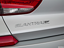 2018 Hyundai Elantra GT Sport, rear model badge/emblem