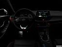 "2018 Hyundai Elantra GT Sport, centered wide dash shot - ""night"" shot."