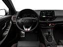 2018 Hyundai Elantra GT Sport, steering wheel/center console.