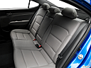 2018 Hyundai Elantra Limited, rear seats from drivers side.