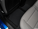 2018 Hyundai Elantra Limited, rear driver's side floor mat. mid-seat level from outside looking in.