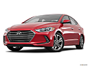 2018 Hyundai Elantra Limited, front angle view, low wide perspective.