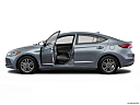 2018 Hyundai Elantra SEL, driver's side profile with drivers side door open.