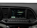 2018 Hyundai Elantra SEL, closeup of radio head unit