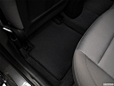 2018 Hyundai Elantra SEL, rear driver's side floor mat. mid-seat level from outside looking in.