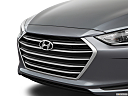 2018 Hyundai Elantra SEL, close up of grill.