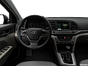 2018 Hyundai Elantra SEL, steering wheel/center console.