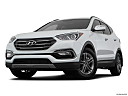 2018 Hyundai Santa Fe Sport, front angle view, low wide perspective.
