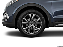 2018 Hyundai Santa Fe Sport 2.0T Ultimate, front drivers side wheel at profile.