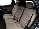 2018 Hyundai Santa Fe Sport 2.0T Ultimate, rear seats from drivers side.