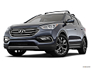 2018 Hyundai Santa Fe Sport 2.0T Ultimate, front angle view, low wide perspective.