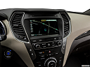 2018 Hyundai Santa Fe Sport 2.0T Ultimate, driver position view of navigation system.
