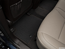 2018 Hyundai Santa Fe Sport 2.0T Ultimate, rear driver's side floor mat. mid-seat level from outside looking in.