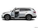 2018 Hyundai Santa Fe SE, driver's side profile with drivers side door open.