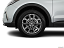 2018 Hyundai Santa Fe SE, front drivers side wheel at profile.