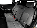 2018 Hyundai Santa Fe SE, rear seats from drivers side.