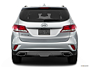 2018 Hyundai Santa Fe SE, low/wide rear.