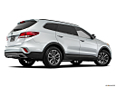 2018 Hyundai Santa Fe SE, low/wide rear 5/8.