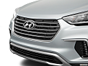2018 Hyundai Santa Fe SE, close up of grill.