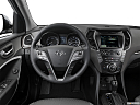 2018 Hyundai Santa Fe SE, steering wheel/center console.