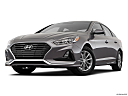 2018 Hyundai Sonata SE, front angle view, low wide perspective.
