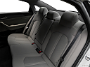 2018 Hyundai Sonata SEL, rear seats from drivers side.