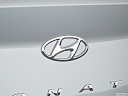 2018 Hyundai Sonata SEL, rear manufacture badge/emblem