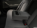 2018 Hyundai Sonata SEL, rear center console with closed lid from driver's side looking down.
