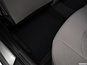 2018 Hyundai Sonata SEL, rear driver's side floor mat. mid-seat level from outside looking in.