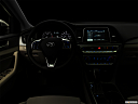"2018 Hyundai Sonata SEL, centered wide dash shot - ""night"" shot."