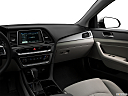 2018 Hyundai Sonata SEL, center console/passenger side.