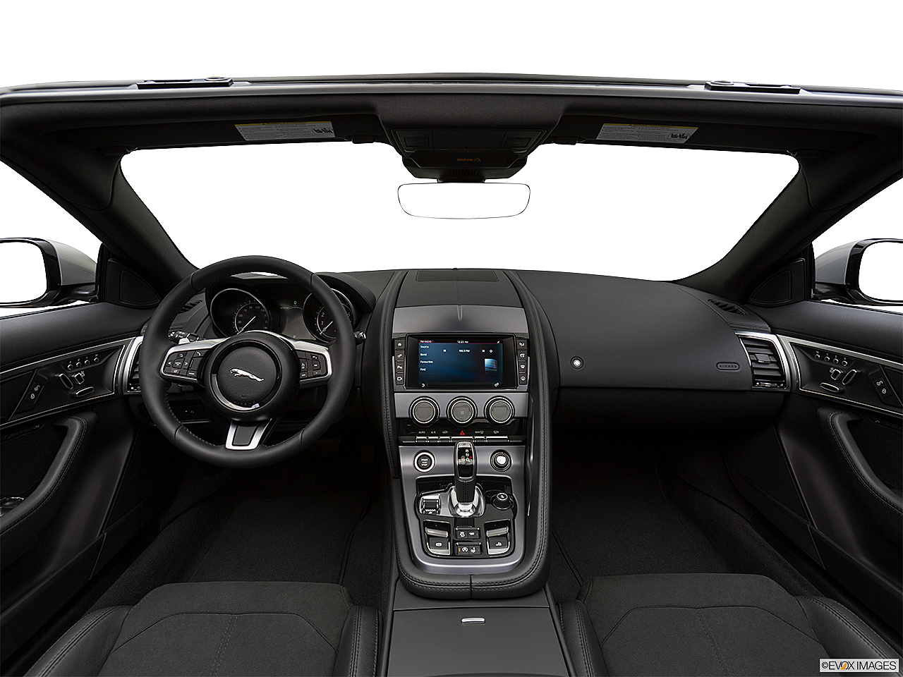 2018 Jaguar F-Type, centered wide dash shot