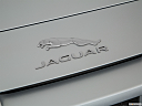 2018 Jaguar F-Type, rear manufacture badge/emblem