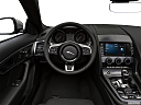 2018 Jaguar F-Type, steering wheel/center console.