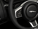 2018 Jaguar F-Type, steering wheel controls (left side)