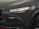 2018 Jeep Cherokee Trailhawk, drivers side headlight.