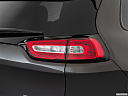 2018 Jeep Cherokee Trailhawk, passenger side taillight.