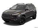 2018 Jeep Cherokee Trailhawk, front angle view.