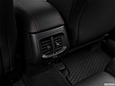 2018 Jeep Cherokee Trailhawk, rear a/c controls.