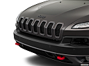 2018 Jeep Cherokee Trailhawk, close up of grill.