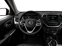 2018 Jeep Cherokee Trailhawk, steering wheel/center console.