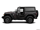 2018 Jeep Wrangler Rubicon, driver's side profile with drivers side door open.