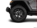 2018 Jeep Wrangler Rubicon, front drivers side wheel at profile.