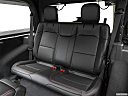 2018 Jeep Wrangler Rubicon, rear seats from drivers side.