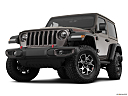 2018 Jeep Wrangler Rubicon, front angle view, low wide perspective.
