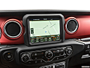 2018 Jeep Wrangler Rubicon, driver position view of navigation system.