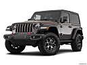 2018 Jeep Wrangler Rubicon, front angle medium view.
