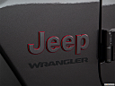 2018 Jeep Wrangler Rubicon, rear manufacture badge/emblem