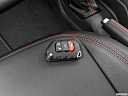 2018 Jeep Wrangler Rubicon, key fob on driver's seat.