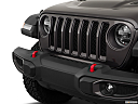 2018 Jeep Wrangler Rubicon, close up of grill.
